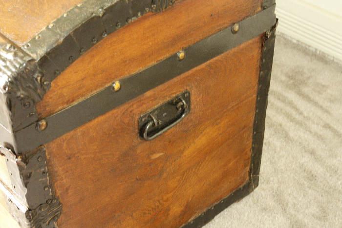 アンティークトランク(木箱)sok9i画像10