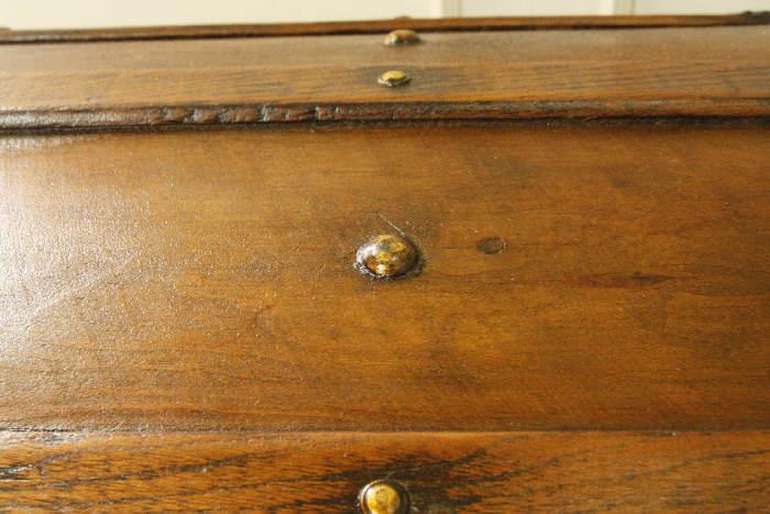 アンティークトランク(木箱)sok9i画像15右側