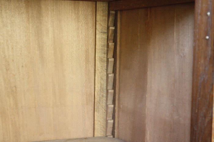 アンティークフレンチカップボードcb30i画像14左側