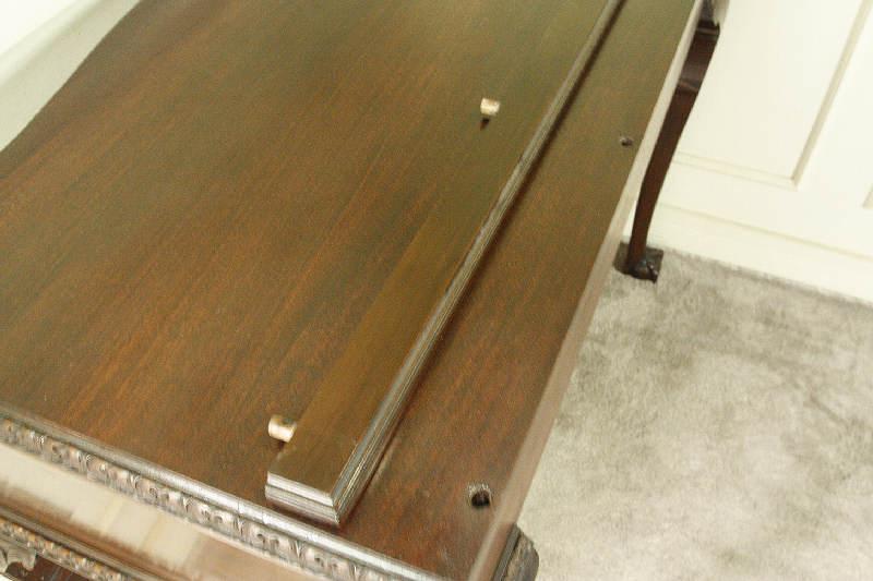 アンティークサイドテーブル(コンソールテーブル)dk6i画像9右側